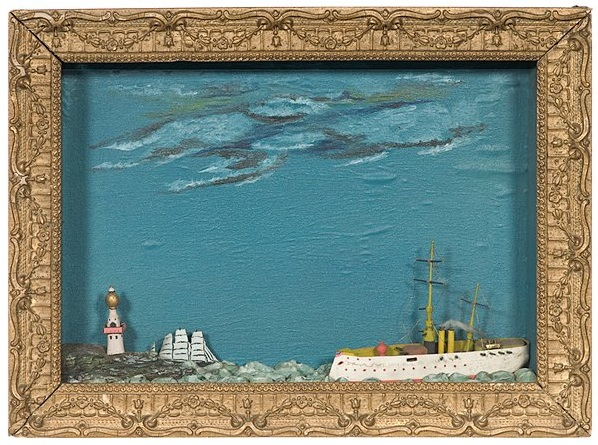 Nautical shadowbox